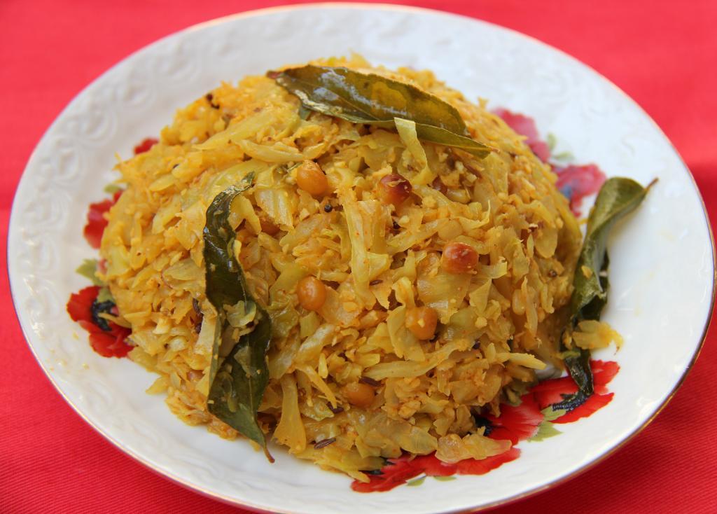 Cabbage Kobbari Vepudu