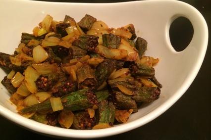 Chatpati Bhindi Recipe - Indian Food