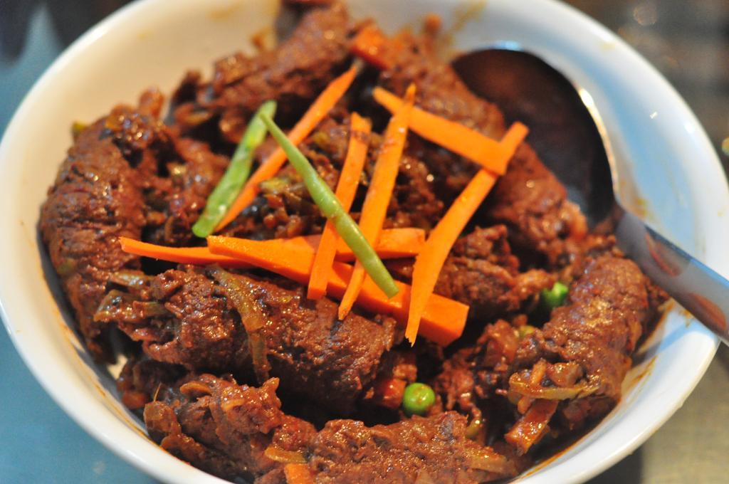 Goan Beef Roulade Beef Rolls