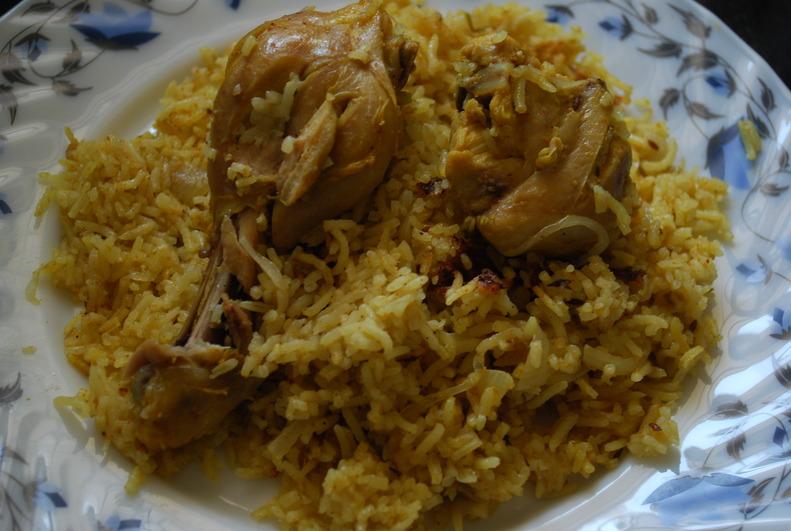 Kashmiri Chicken Pulao Recipe - Kashmiri Food