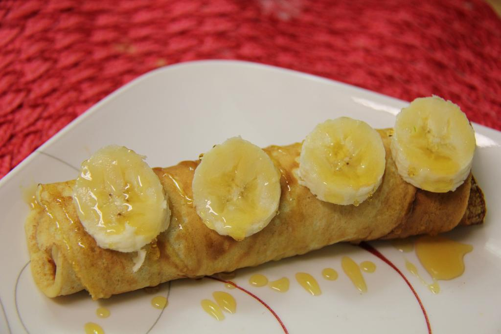 Nutella Banana Crepes