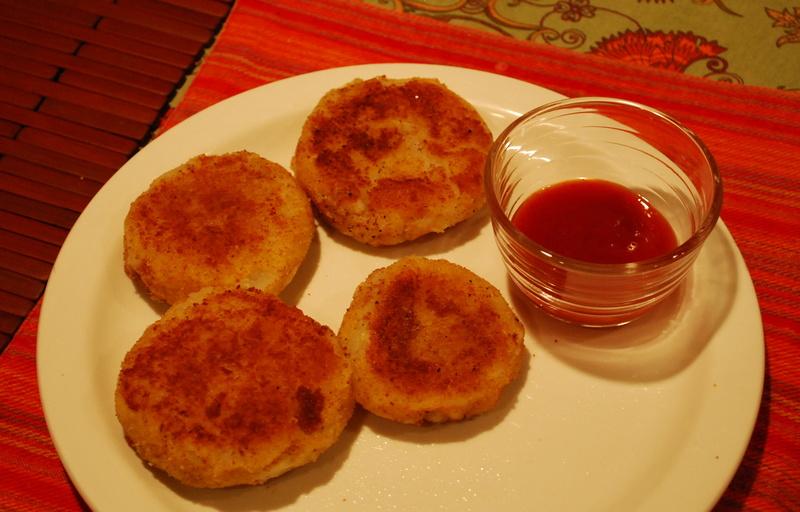 tomahawk chops with sweet potato puree potato pancakes even better ...