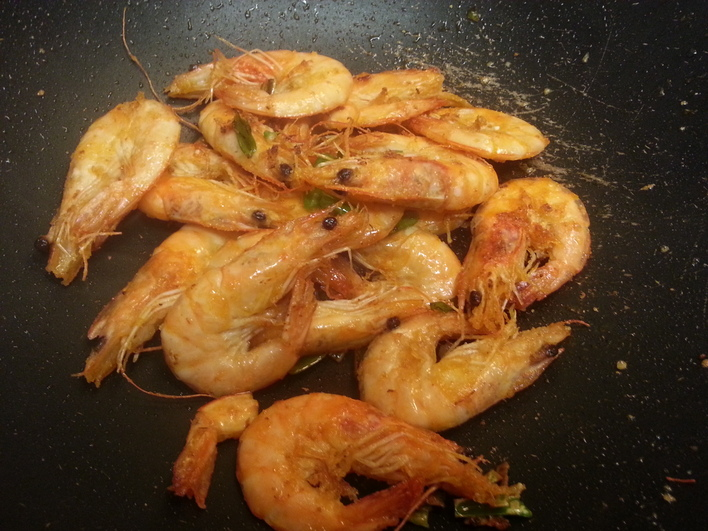 Salt and Pepper Shrimp Recipe - Chinese Food