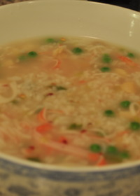 Seafood Congee Soup