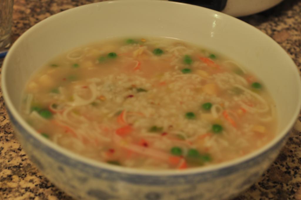 Seafood Congee Soup
