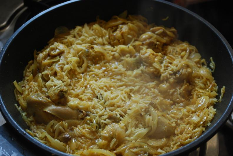 """Kashmiri Chicken Pulao"""" """" Chicken"""" """"Kashmiri"""""""